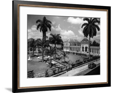 The Rodney Memorial at Spanish Town Square, Jamaica, C.1960--Framed Art Print