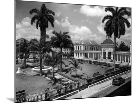 The Rodney Memorial at Spanish Town Square, Jamaica, C.1960--Mounted Photographic Print