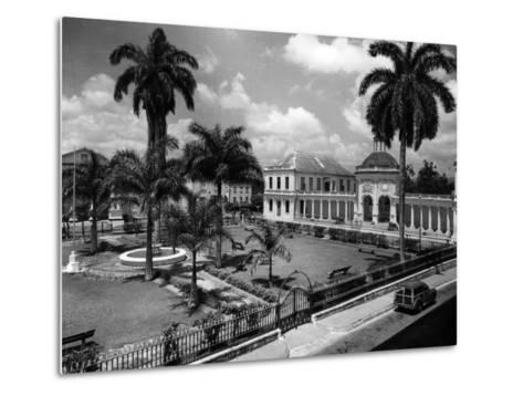 The Rodney Memorial at Spanish Town Square, Jamaica, C.1960--Metal Print