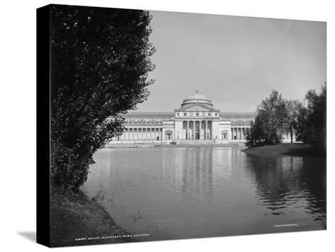 Scene in Jackson Park, Chicago, Illinois, 1890-1901--Stretched Canvas Print