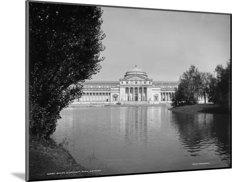 Scene in Jackson Park, Chicago, Illinois, 1890-1901--Mounted Photographic Print