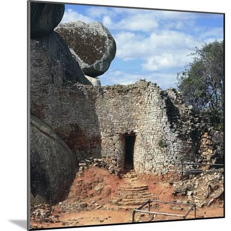 Covered Walkway to Royal Residence, Ruins of Great Zimbabwe--Mounted Photographic Print