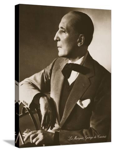 The Marquis George De Cuevas, from 'Grand Ballet De Monte-Carlo', 1949--Stretched Canvas Print