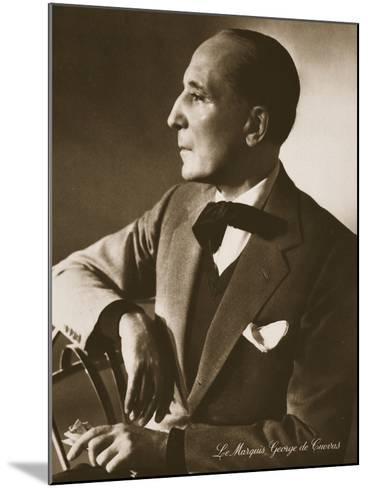 The Marquis George De Cuevas, from 'Grand Ballet De Monte-Carlo', 1949--Mounted Photographic Print