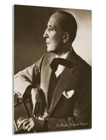 The Marquis George De Cuevas, from 'Grand Ballet De Monte-Carlo', 1949--Metal Print