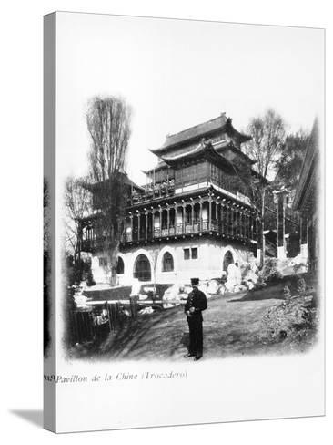 The China Pavilion at the 1900 Universal Exhibition, Paris, 1900--Stretched Canvas Print