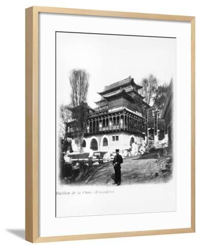 The China Pavilion at the 1900 Universal Exhibition, Paris, 1900--Framed Art Print