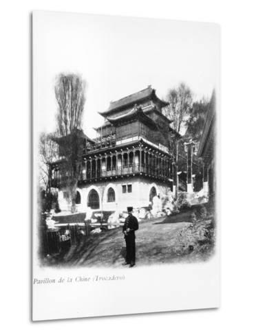The China Pavilion at the 1900 Universal Exhibition, Paris, 1900--Metal Print