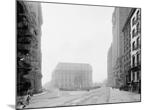 Custom House and Bowling Green, New York, N.Y., C.1907-10--Mounted Photographic Print
