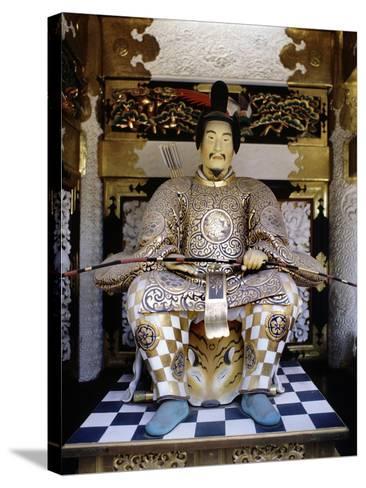 Life-Like Image of Tokugawa Ieyasu at Toshogu Shrine in Nikko, Japan--Stretched Canvas Print