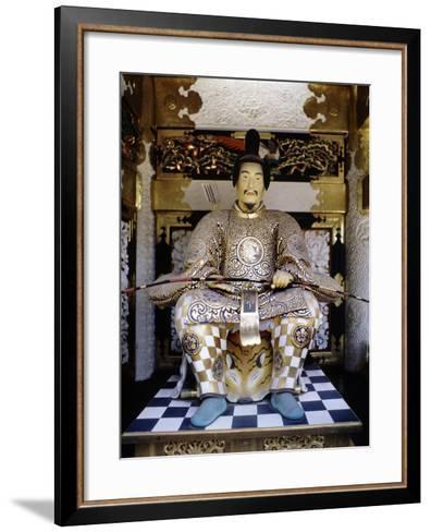 Life-Like Image of Tokugawa Ieyasu at Toshogu Shrine in Nikko, Japan--Framed Art Print