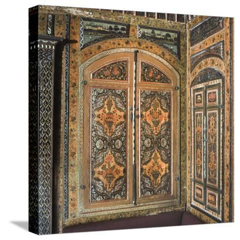 Period Room, from Damascus, Syria, Dating from 1711-12--Stretched Canvas Print