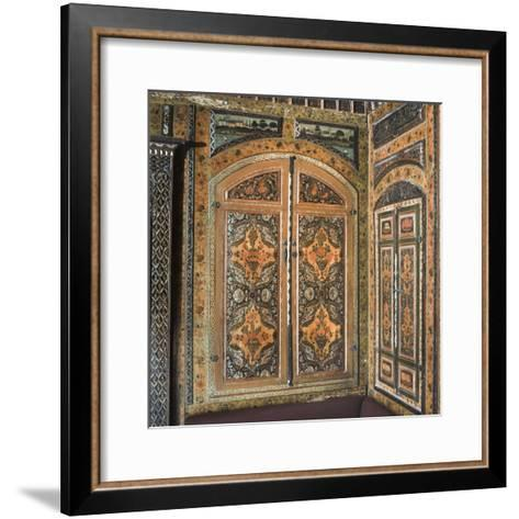 Period Room, from Damascus, Syria, Dating from 1711-12--Framed Art Print