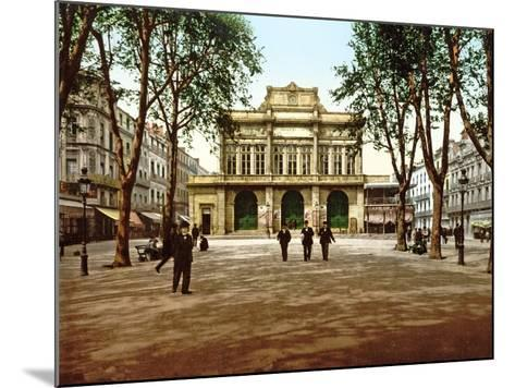 The Municipal Theatre at Béziers, France, 1890-1900--Mounted Photographic Print