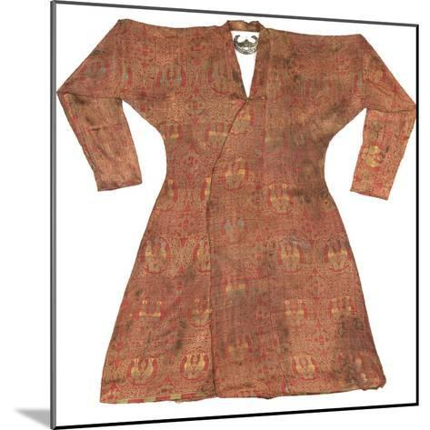 Brightly Coloured Seljuk Lampas Robe, Central Asia, 11th - 12th Century--Mounted Photographic Print