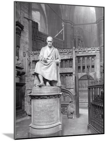 Monument to James Watt in St Paul's Chapel, Westminster Abbey, London-Frederick Henry Evans-Mounted Photographic Print