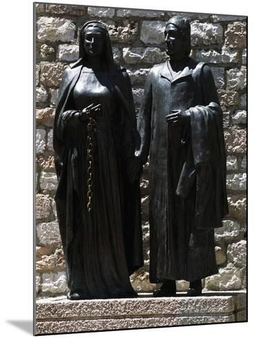 Monument Depicting St Francis' Parents, Chiesa Nuova, Assisi--Mounted Photographic Print