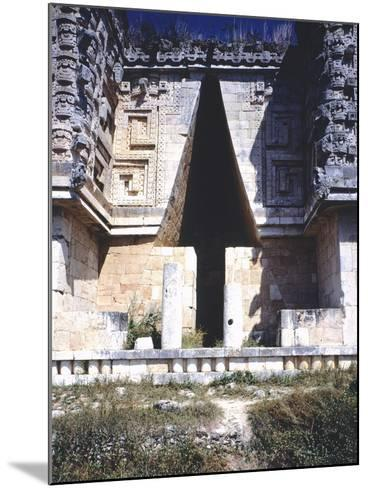 The Arch of the Governor's Palace, Archaeological Site in Uxmal--Mounted Photographic Print