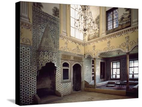 Sultan's Mother's Dining Room, Topkapi Palace, Historic Areas of Istanbul--Stretched Canvas Print