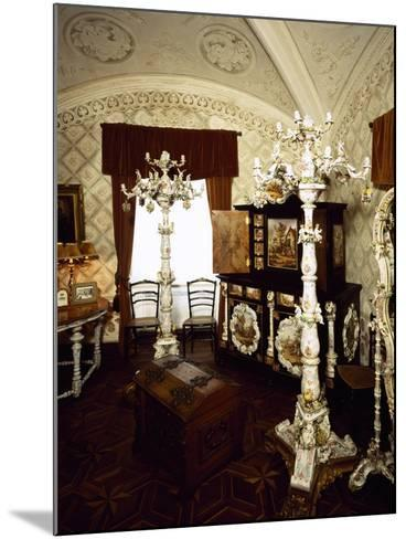 Saxony Porcelain Room in Palacio Nacional Da Pena, Sintra--Mounted Photographic Print