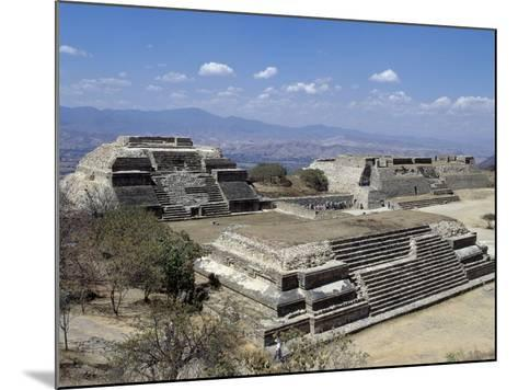 Buildings L and M, Monte Alban Archaeological Site--Mounted Photographic Print