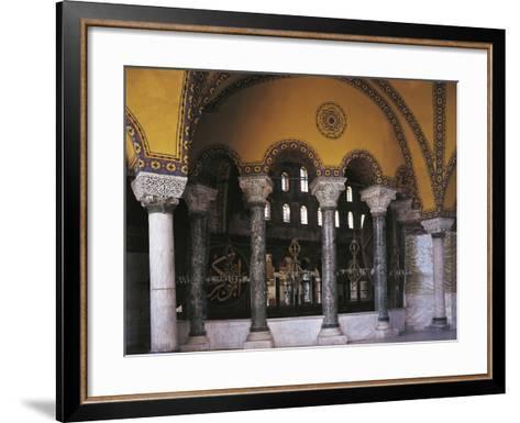 Hagia Sophia Tribune Gallery, Historic Areas of Istanbul--Framed Art Print