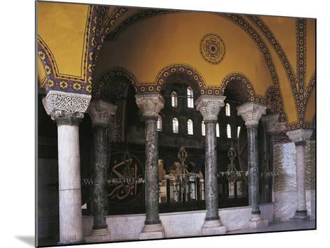 Hagia Sophia Tribune Gallery, Historic Areas of Istanbul--Mounted Photographic Print