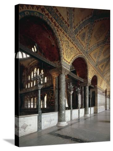 Forum of Emperors, Hagia Sophia, Historic Areas of Istanbul--Stretched Canvas Print