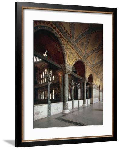 Forum of Emperors, Hagia Sophia, Historic Areas of Istanbul--Framed Art Print