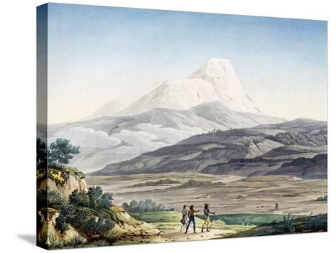 Vulcano Cayambe in Region of Quito, Ecuador-Alexander Von Humboldt-Stretched Canvas Print