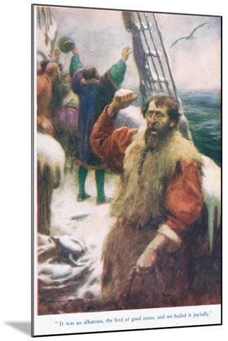 The Rime of the Ancient Mariner, Illustration from 'Stories from the Poets'-Arthur C. Michael-Mounted Giclee Print