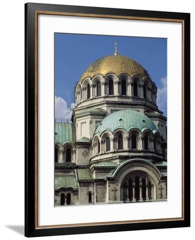 The Neo-Byzantine St Alexander Nevsky Cathedral, 1882-1912-Aleksandr Pomerantsev-Framed Art Print