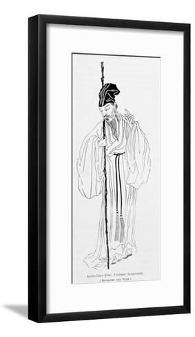 Kouo-Chou-King, Famous Astronomer During Yuan Dynasty-Alphonse Hubrecht-Framed Art Print