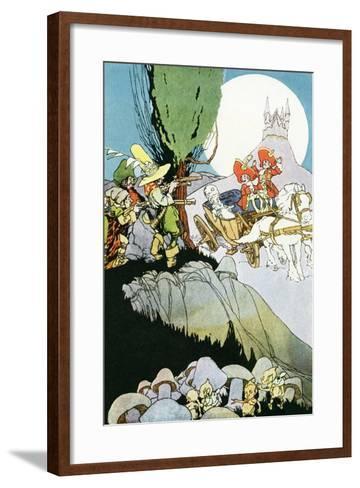 Illustration from 'The Perhappsy Chaps'-Arthur Henderson-Framed Art Print