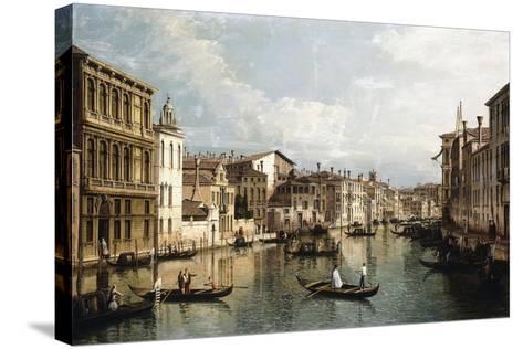 The Grand Canal-Bernardo Bellotto-Stretched Canvas Print