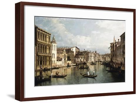 The Grand Canal-Bernardo Bellotto-Framed Art Print