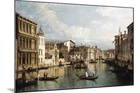 The Grand Canal-Bernardo Bellotto-Mounted Giclee Print