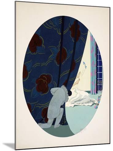Les Cinq Sens - L'Ouïe, La Vue, L'Odorat, Le Toucher Et Le Goût, Pub. Paris, 1925-Ettore Tito-Mounted Giclee Print