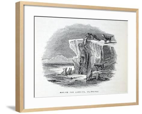 Making the Land-Ice-Elisha Kane-Framed Art Print