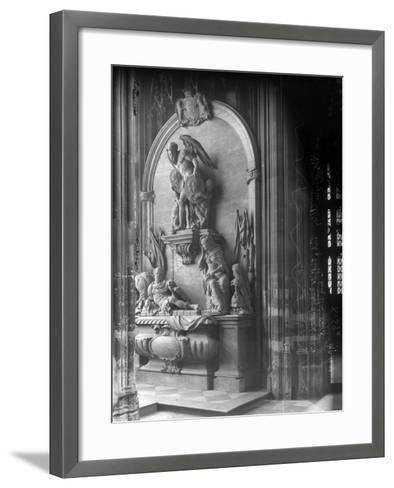 Monument to George Villiers, 1st Duke of Buckingham, Westminster Abbey, London-Frederick Henry Evans-Framed Art Print