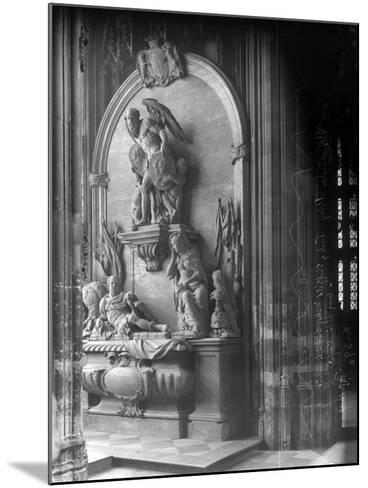 Monument to George Villiers, 1st Duke of Buckingham, Westminster Abbey, London-Frederick Henry Evans-Mounted Photographic Print