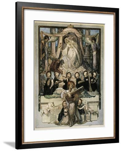 To Turn My Wish and Will E'En Now Prevailed, Love That Moves Sun and Other Stars, Paradiso-Dante Alighieri-Framed Art Print