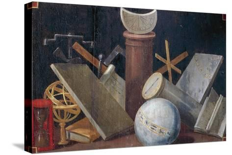 Scientific and Astronomical Instruments, Ca 1620-Jean Mosnier-Stretched Canvas Print