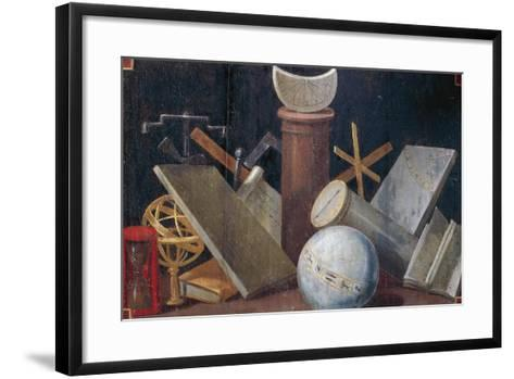 Scientific and Astronomical Instruments, Ca 1620-Jean Mosnier-Framed Art Print