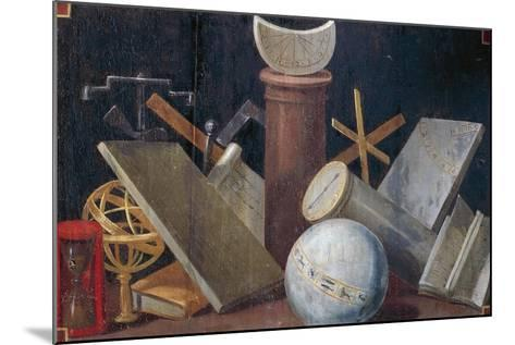 Scientific and Astronomical Instruments, Ca 1620-Jean Mosnier-Mounted Giclee Print