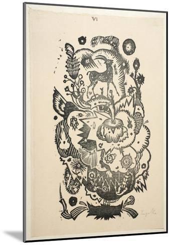 Design Motif for Wallpaper-Gustav Tejcka-Mounted Giclee Print