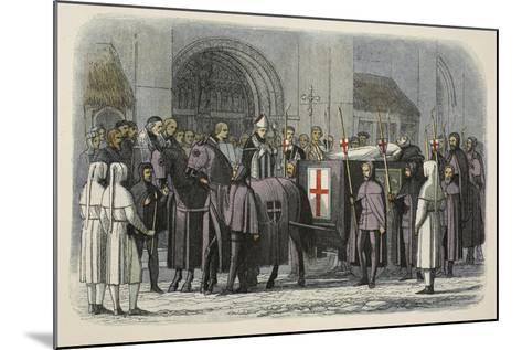 The Body of Richard II Brought to St Paul's Cathedral-James William Edmund Doyle-Mounted Giclee Print