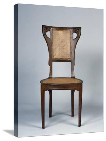 Art Nouveau Style Dining Room Chair, 1905-1908-Henri Bellery-desfontaines-Stretched Canvas Print