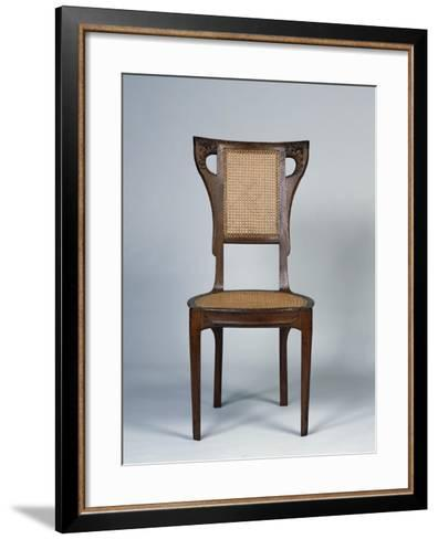 Art Nouveau Style Dining Room Chair, 1905-1908-Henri Bellery-desfontaines-Framed Art Print