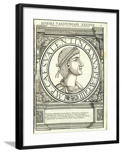 Valentinianus III-Hans Rudolf Manuel Deutsch-Framed Art Print